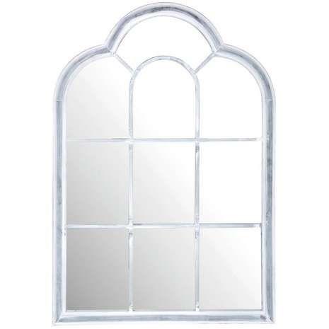 Metal Roman Window Mirror Outdoor Mirror Window Mirror Ornate Mirror