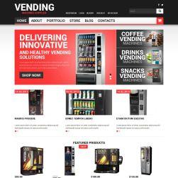 Vending Machines Bootstrap Woocommerce Template 49470 Woocommerce Themes Woocommerce Vending Machine