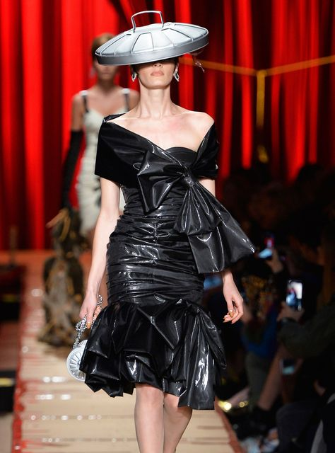 One Man's Trash Is (Apparently) Moschino's Couture+#refinery29