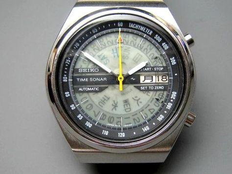 scarpe temperamento super qualità abbastanza economico Vintage Seiko Time Sonar (~$300) | stile | Orologio, Orologi ...