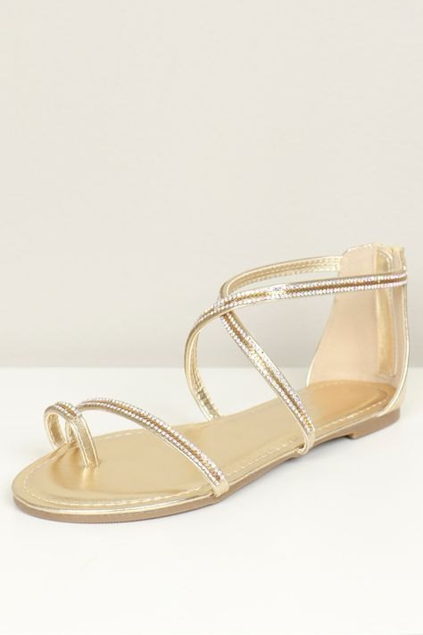 Nude flat sandals with gold chains, nude leather sandal, flat bridal shoes, flat wedding shoes, nude wedding flats, strappy sandal
