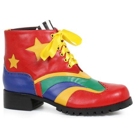The Clown Shoes For Men will be the perfect addition to complete your 2019 Halloween costume! Accessories from Wholesale Halloween Costumes are top quality, so you will stand out from the rest! Clown Clothes, Clown Shoes, Popular Costumes, Costumes For Women, Mens Platform Shoes, Wholesale Halloween Costumes, Colorful Shoes, Combat Boots, Loafers
