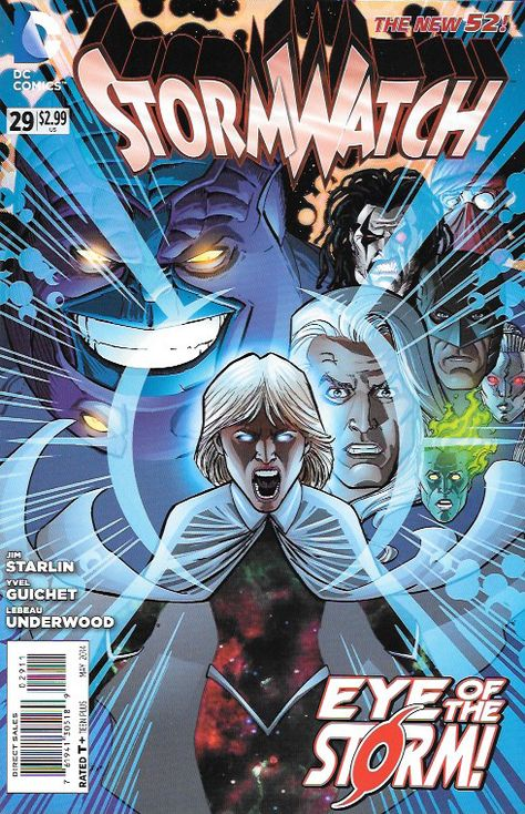 Stormwatch #29 DC Comics The New 52!