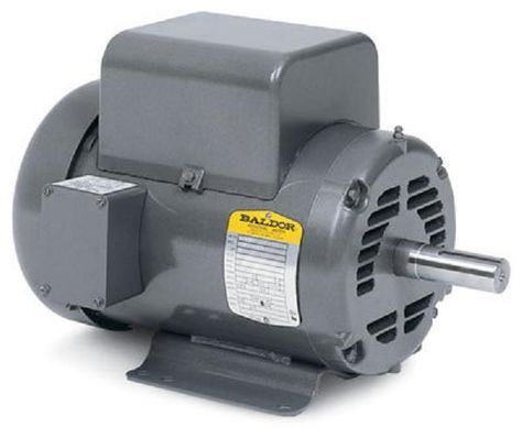 5 Hp 1725 Rpm New Baldor Air Compressor Electric Motor Fr L1430t Electric Motor Air Compressor Motor Motor