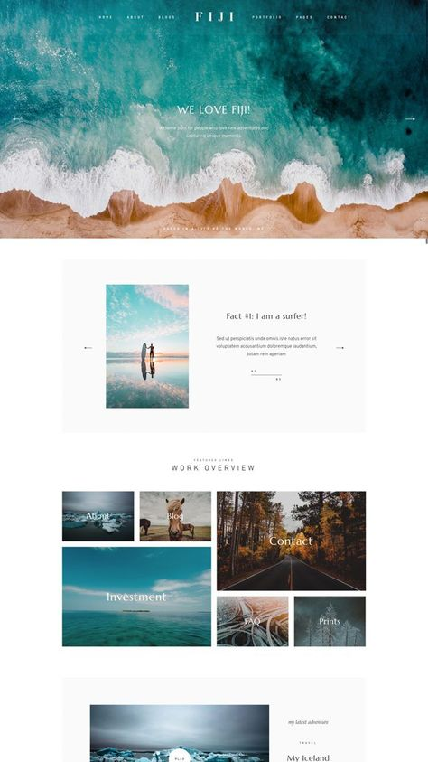 SQUARESPACE WEBSITE TEMPLATE Design: The Bold Babe | Customizable Graphics | Squarespace Training |