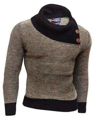 Promocja Cieply Sweter Japan Slim Okazja Kolory Xl 3842766485 Oficjalne Archiwum Allegro Warm Design Fitted Jumper Warm Sweaters