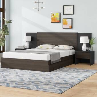 Porrima Platform 4 Piece Bedroom Set Bedroom Bed Design Bedroom