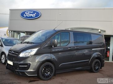M Sport Ford Transit Custom Crew Van Magnetic Grey Rally Autos