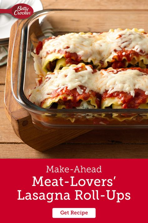 This lasagna recipe turns meal-prep into meal perfection. Lasagna roll-ups are perfect for dinner tonight, and lunch for the rest of the week. Or make a big batch and turn it into freezer meals for when the week gets busy but you still want a comforting family meal ready to go.