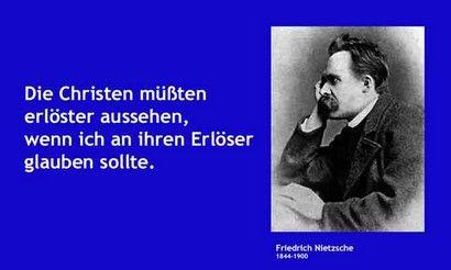 Karfreitag Erlosung Nietzsche Zitat Karfreitag Erlosung Gottes Sohn