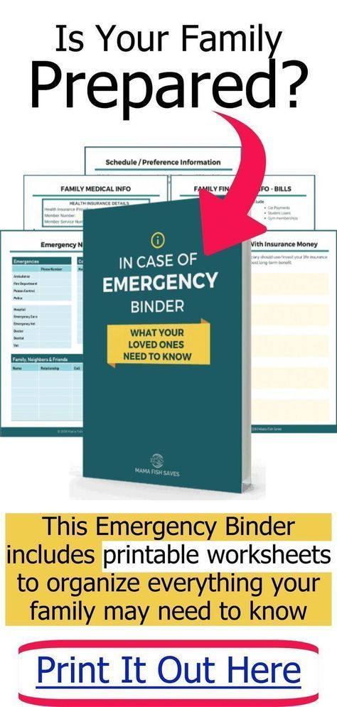 How To Organize Important Documents In An Emergency Binder Or