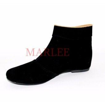 Best Shop Marlee Bkd 02 Sepatu Boots Wanita Hitamkualitas