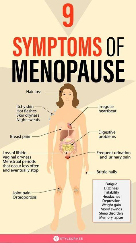 9 Symptoms Of Menopause