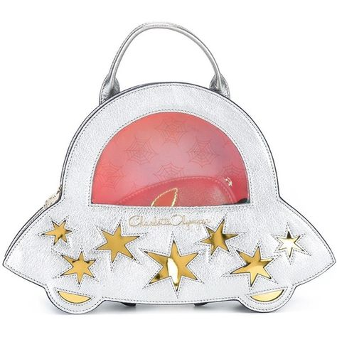 13184317a200 Charlotte Olympia  Space Invader  backpack (17.230.265 IDR) ❤ liked on  Polyvore featuring bags