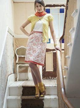 Universally flattering A-line skirt -- Free Pattern