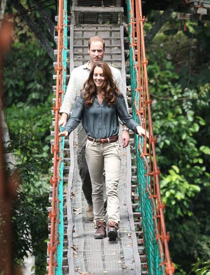 Prince William And Kate Middleton Visit A Borneo Rainforest