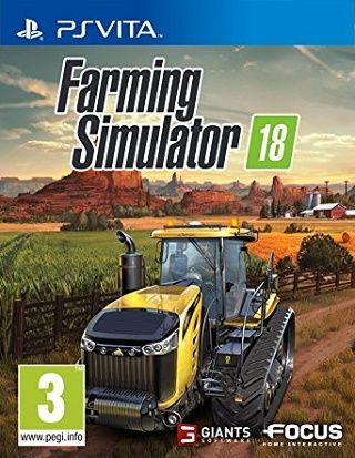 Farming Simulator 18 download PS Vita VPK [NoNpDrm] file on