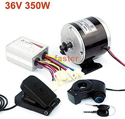 Amazon com : L-faster 24V 36V 350W Electric DC Motor