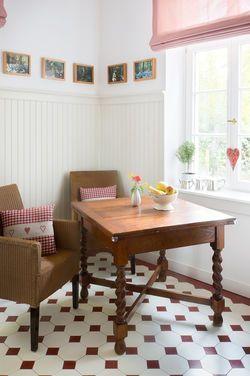 Essecke Kuche Wandpaneele Holzpaneele Landhausstil Landhauspaneele Wandverkleidung Nut Contemporary Decor Living Room Country Style Dining Room Easy Home Decor