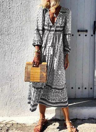 Lassige Kleidung 3 4 Armel Farbquadrat Midi Kleider Floryday In 2020 Lassig Kleidung Kleider Damen Kleidung