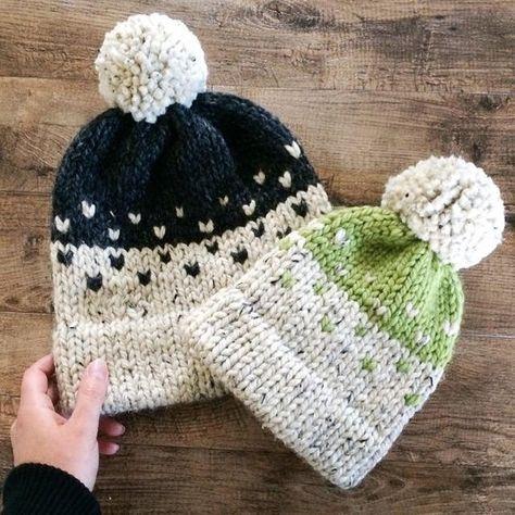 Fisherman Toque Double Brim Knit Hat Double Brim Hat Knit  4058aafd52f