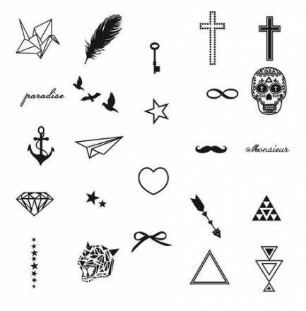Tattoo Simple Small Symbols Tatoo 35 Ideas Mini Tattoos Leo Tattoos Diy Tattoo