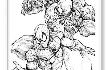 Pin En Spiderman Dibujo Para Colorear