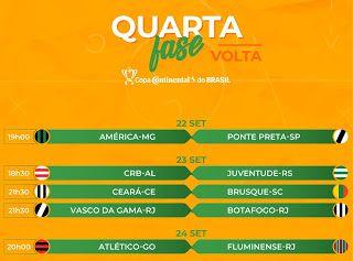 Copa Do Brasil Veja Datas E Horarios Dos Jogos Da Quarta Fase Copa Brasil Esporte Clube Vitoria Biatlo