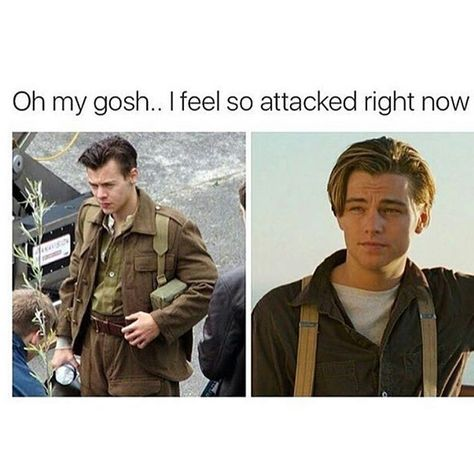 To me, he always looked like Leo, even before this haircut. I'm soooo, I can't even,  *dies*