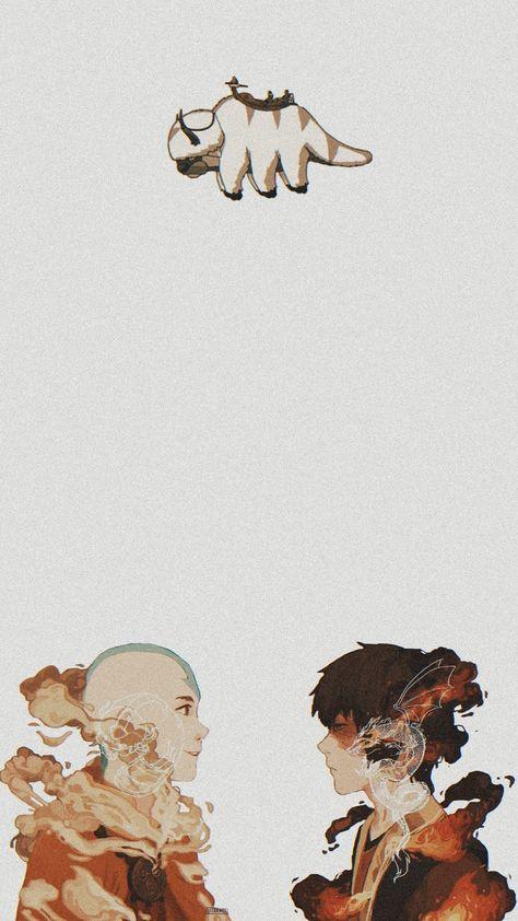 Avatar wallpaper aang and zuko