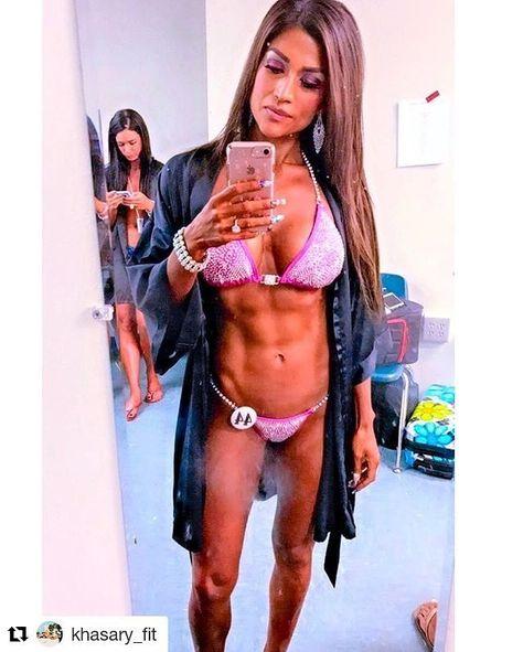 bikiniathlete Credit to @khasary_fit...