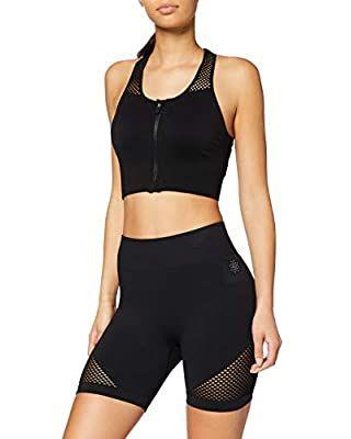 Aibrou Mujer Conjunto de Ropa Deportiva Secado r/ápido Top y Pantalones Cortos 2 Piezas//Set Ropa de Fitness para Gym Workout Yoga