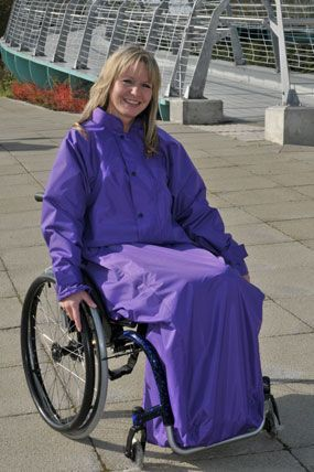 Warmlined Waterproof Wheelchair Jacket Wheelchair Clothing Adaptive Clothing Wearables Clothing