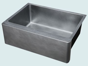 Custom Zinc Farmhouse Sinks # 5290