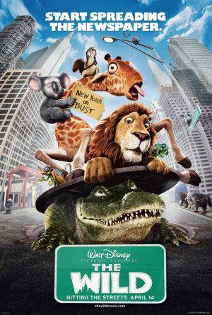 مشاهدة فيلم The Wild 2006 مترجم Egybest Wild Movie Disney Movie Posters Cartoon Movies