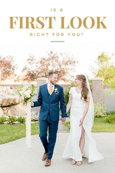 Is a first look the right choice for you? Find out the top five reasons why you should have a first look at your wedding! #utahwedding #firstlook #wedding #utahweddings #utahweddingphotographer #weddingtips #weddingadvice #utahweddingphotography #utahweddingphotographers #utahbrideandgroom #utahbride #elegantwedding