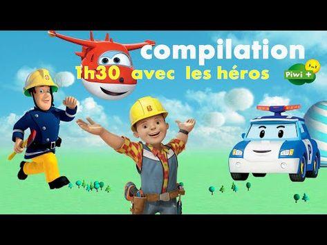 Compilation 1h30 Avec Super Wings Robocar Poli Bob Le Bricoleur
