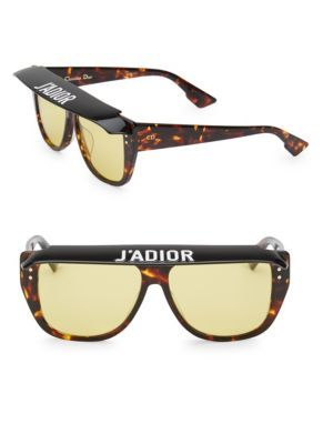 8c6df56d67fa DIOR DiorClub2 56MM Square Sunglasses. #dior # | Dior | Sunglasses ...