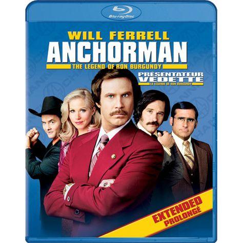 Anchorman The Legend Of Ron Burgundy Blu Ray 2004 Anchorman