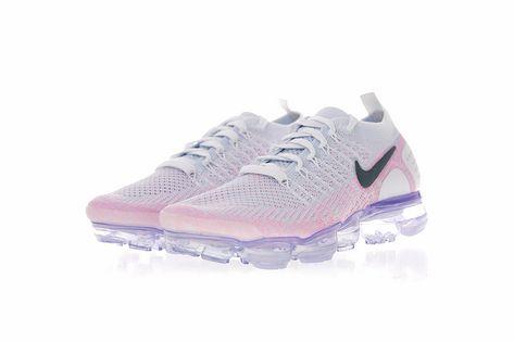 online retailer e2c71 f7b57 942843-102 Nike Air Vapormax Flyknit 2 0 Womens Running Shoe Hydrogen Blue  Pink Black Cheap Sale