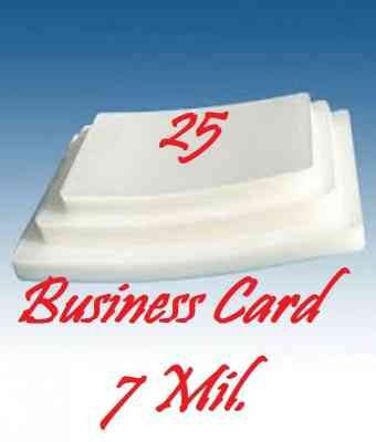 Business Card 7 Mil 25 Pieces Laminating Pouches Sheets 2 1 4 X 3 3 4 Cards American Spirit Cigarettes Business Cards