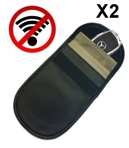 Blocking Bag Safe Phone Car Key Fob Pouch Faraday Cage Signal Blocker Case