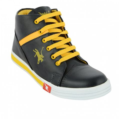 1Aarow Black Lifestyle Shoes cheapest price cheap online KP4t89qFdQ