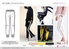 Discover the new TROUSER & SKIRT development designs by Fashion trend forecasting.
