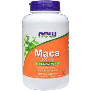 تجربتي مع عشبة الماكا Now Foods Maca Veggie Caps