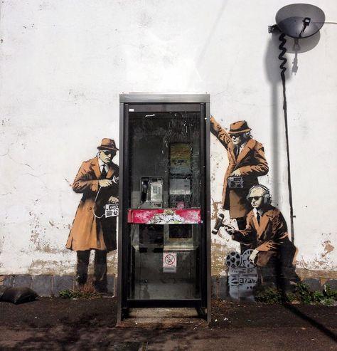 NSA? - Banksy