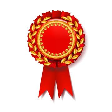 Red Award Ribbon Vector Certificate Banner Celebration Tag Advertising Event 3d Realistic Illustration Award Ribbon Vector Png And Vector With Transparent Ba Award Ribbon Vector Prints For Sale