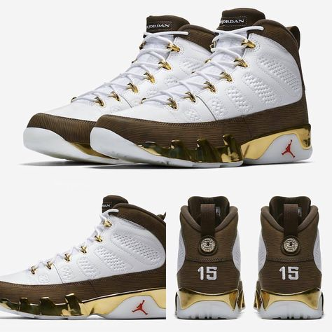 68af7e2a27b Air Jordan 9 'Mop Melo' Releases April 27th. More info on SneakerFiles.com