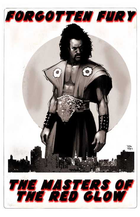 SHO'NUFF THE SHOGUN OF HARLEM / THE MASTERS OF THE RED GLOW