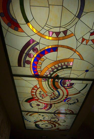 Stained Glass Panels For False Ceiling Designs A Comprehensive Guide To Installing Stained Glass Ceilin Stained Glass Panels Stained Glass Stained Glass Art